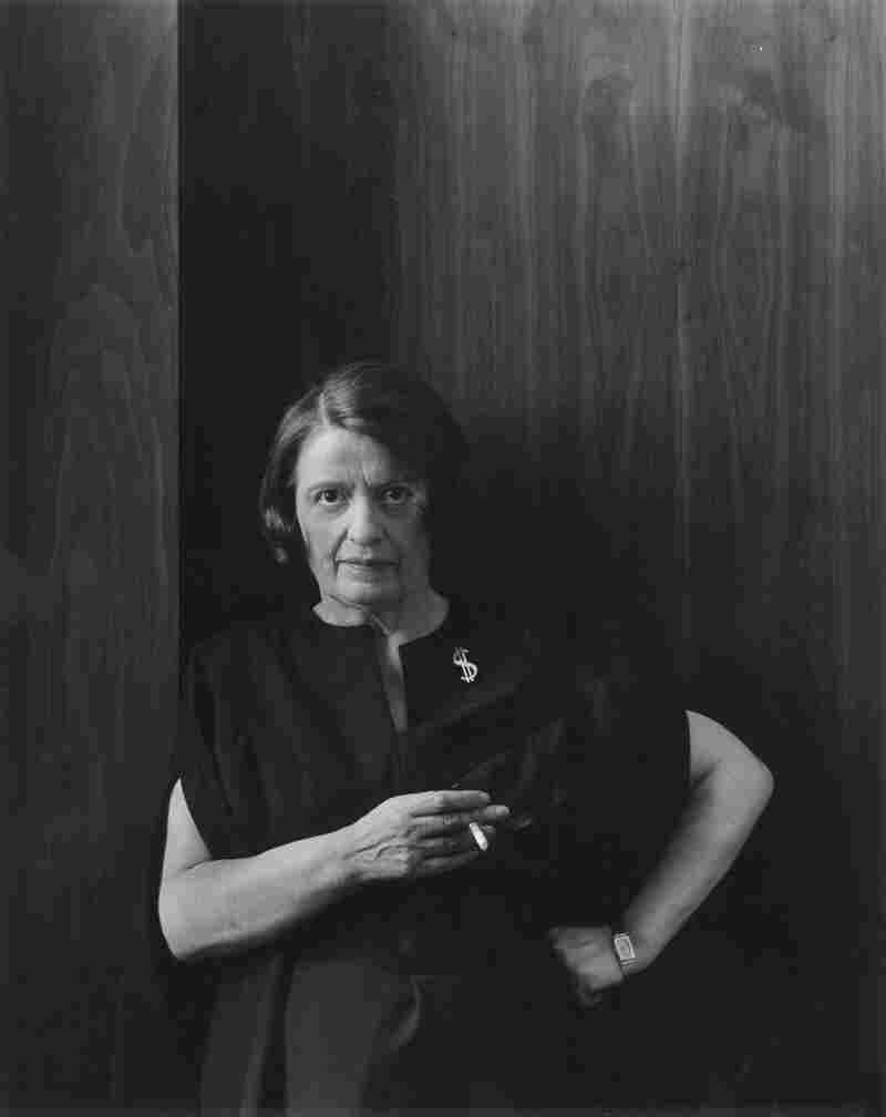 Writer Ayn Rand, New York City, 1964