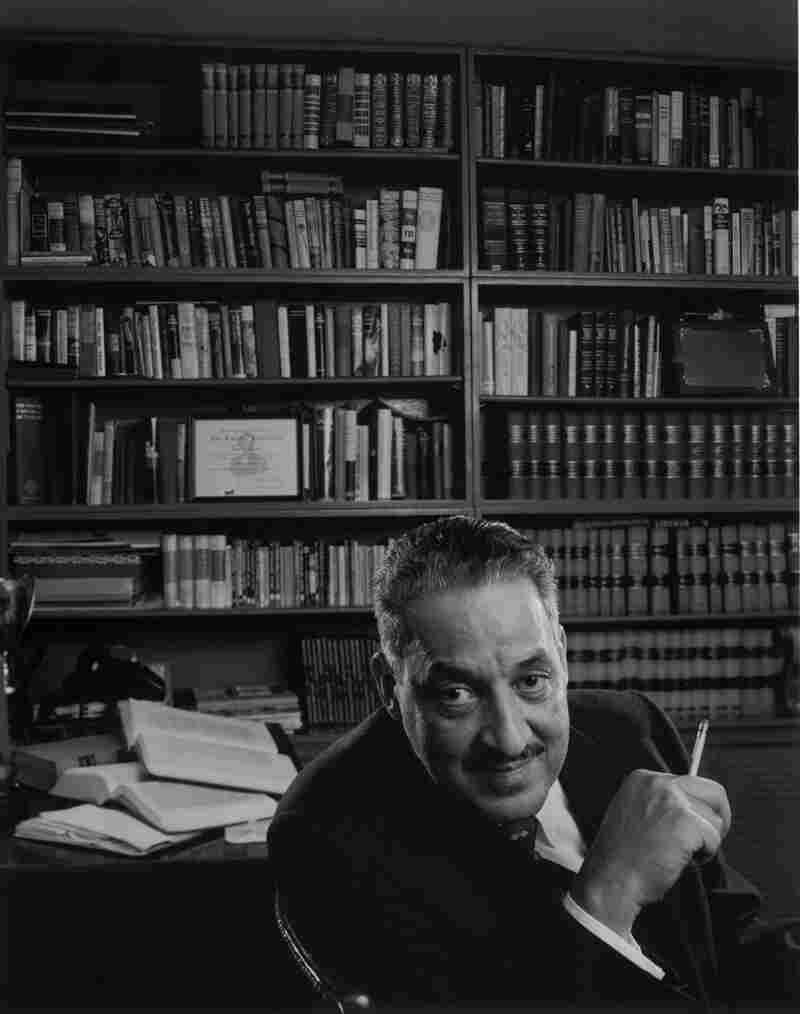 Attorney Thurgood Marshall in Harlem, 1960 — before he was nominated to be a Supreme Court justice