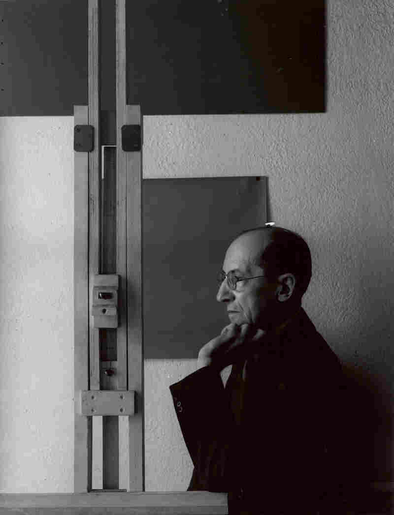 Painter Piet Mondrian, New York, 1942