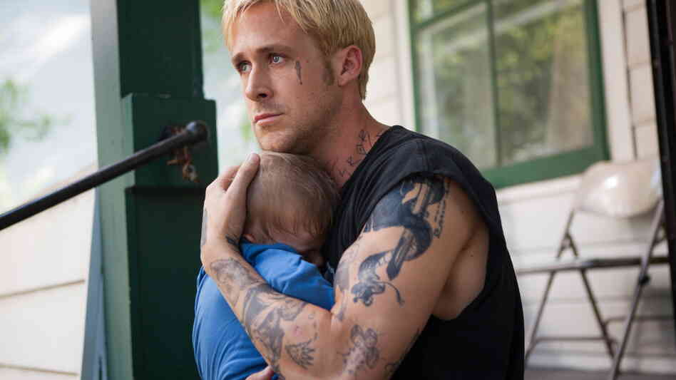Angsty stunt performer Luke (Ryan Gosling) quits the circus and becomes a busybody father after a former girlfriend reveals she's had his child.