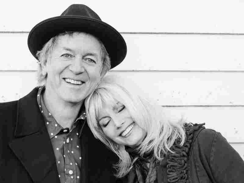 Emmylou Harris and Rodney Crowell have been friends and collaborators since the 1970s. Their new album together is called Old Yellow Moon.