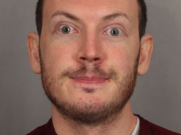 James Holmes in a photo from the Arapahoe County (Colo.)  Sheriff's Office. (AP)