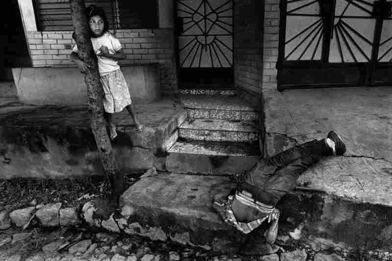In the 1980s, El Salvador had one of the Northern Hemisphere's worst human-rights records. This victim was allegedly murdered by government death squads for violating curfew during a guerrilla offensive.