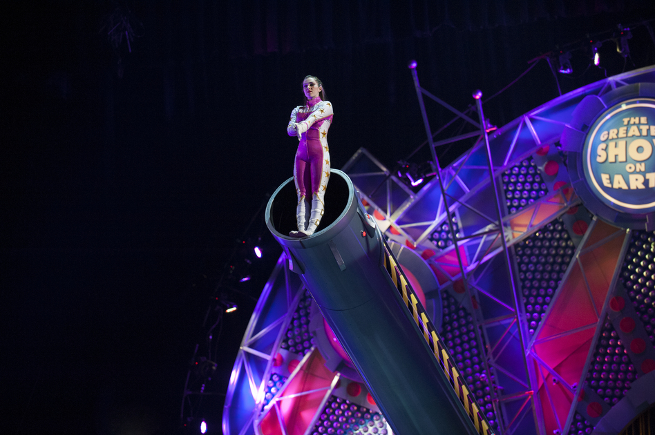 At 20, she is the world's youngest female human cannonball. (Feld Entertainment)