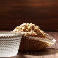 The Bouchon Bakery cookbook highlights the streusel topping on Keller's carrot muffins.