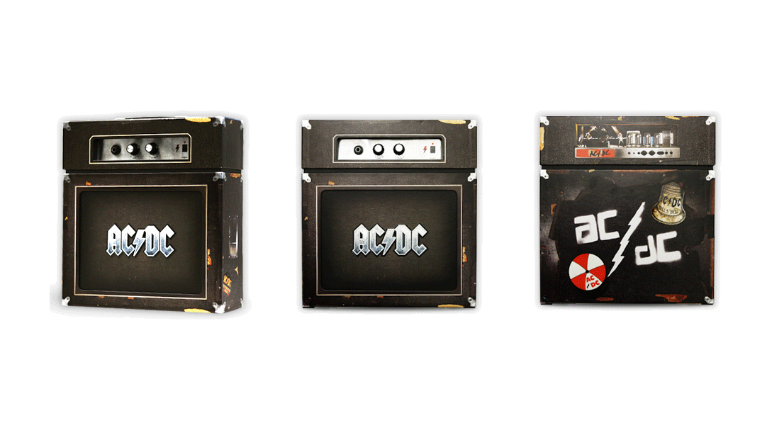 AC/DC, BacktracksThe collector's edition of this 2009 rarities box set from the Australian hard rock legends was packaged in another amp. Unlike the Charlie Christian box set, this one actually works!