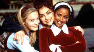 Alicia Silverstone (from left), Brittany Murphy and Stacey Dash in Clueless.