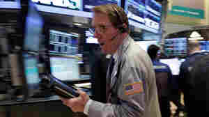 A trader on floor of the New York Stock Exchange on March 25, 2013. U