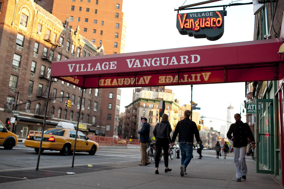 Outside the Village Vanguard. (johnrogersnyc.com)