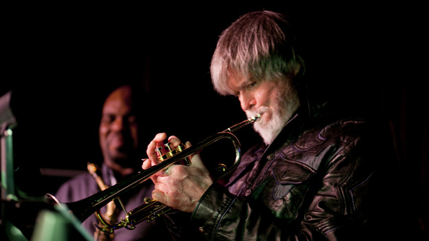 Tom Harrell at the Village Vanguard. (John Rogers for NPR)