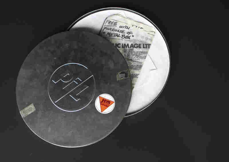 Public Image Ltd, Metal BoxThe second album from Public Image Ltd, John Lydon's post-Sex Pistols group, was three vinyl discs packaged inside what looks like a 16mm film canister. (In the U.S., the album was released in a boring old cardboard sleeve as Second Edition.)