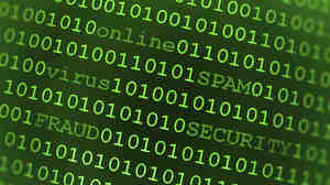 Huge amounts of data were flying, but the attack didn't cause major problems around the world, Internet monitors say.