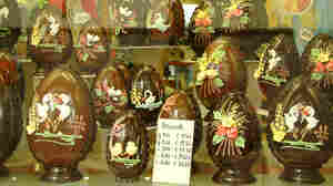 Italy's Chocolate Easter Eggs: Big, Bold And Full Of Bling