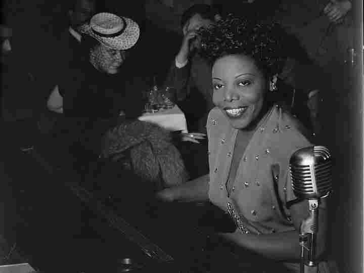 Mary Lou Williams performs at the Cafe Society in New York in 1947.