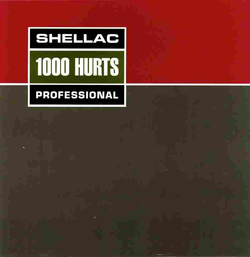 Shellac, 1000 HurtsThis cover, made to look like an Ampex tape reel box, is something of an in-joke for fans of the band: guitarist Steve Albini runs the Electrical Audio recording studio in Chicago, notable for its analog-only recording practices.