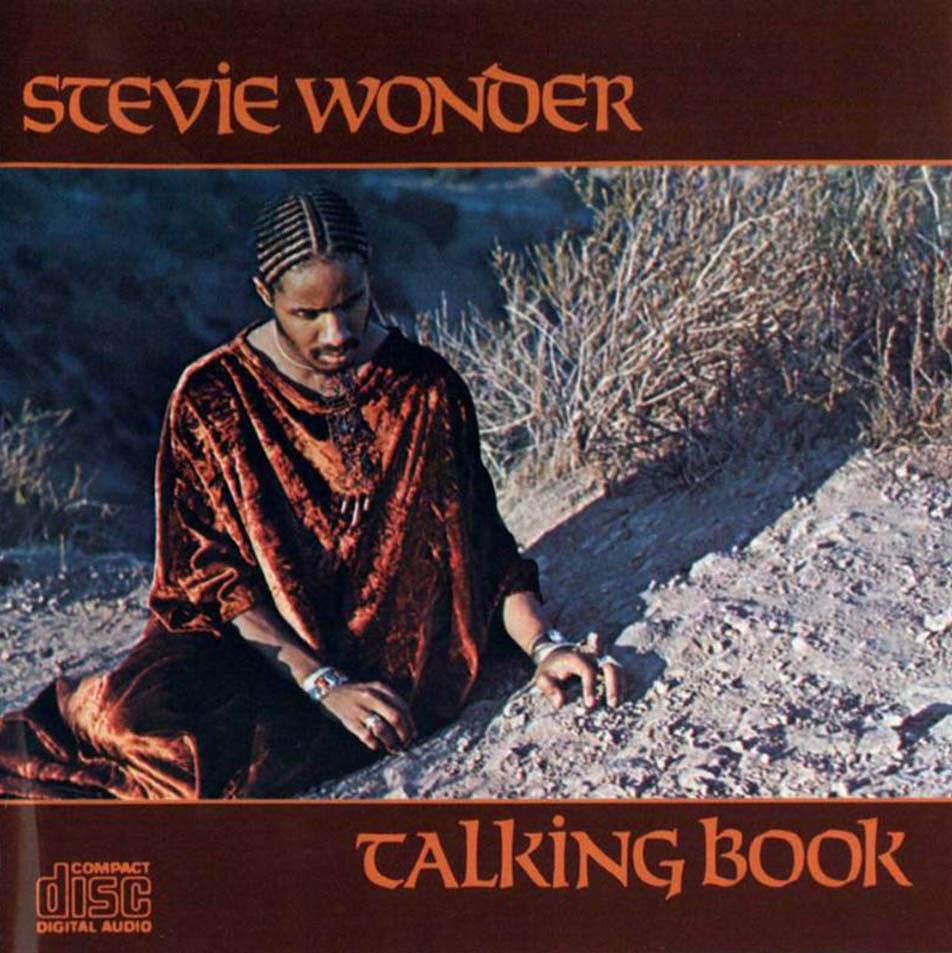 Stevie wonder talking book cover
