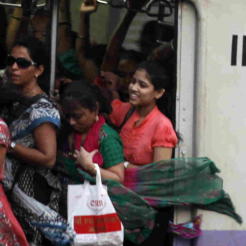 On India's Trains, Seeking Safety In The Women's Compartment