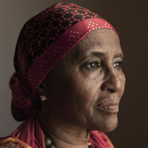 Dr. Hawa Abdi is a Somalian human-rights activist, lawyer and doctor specializing in gynecology. She founded the Dr. Hawa Abdi Foundation, which runs a hospital and school in one of the largest internally displaced persons camps in Somalia.