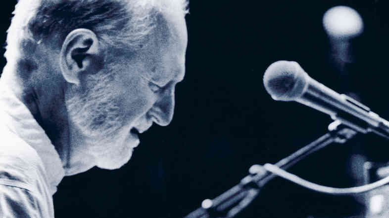 Mose Allison performing live at Mountain Stage.