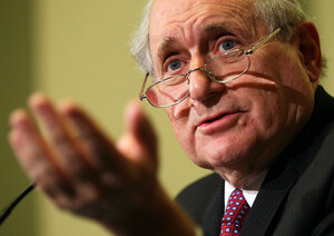 Sen. Carl Levin has been a vocal advocate for transparency in political ad spending.
