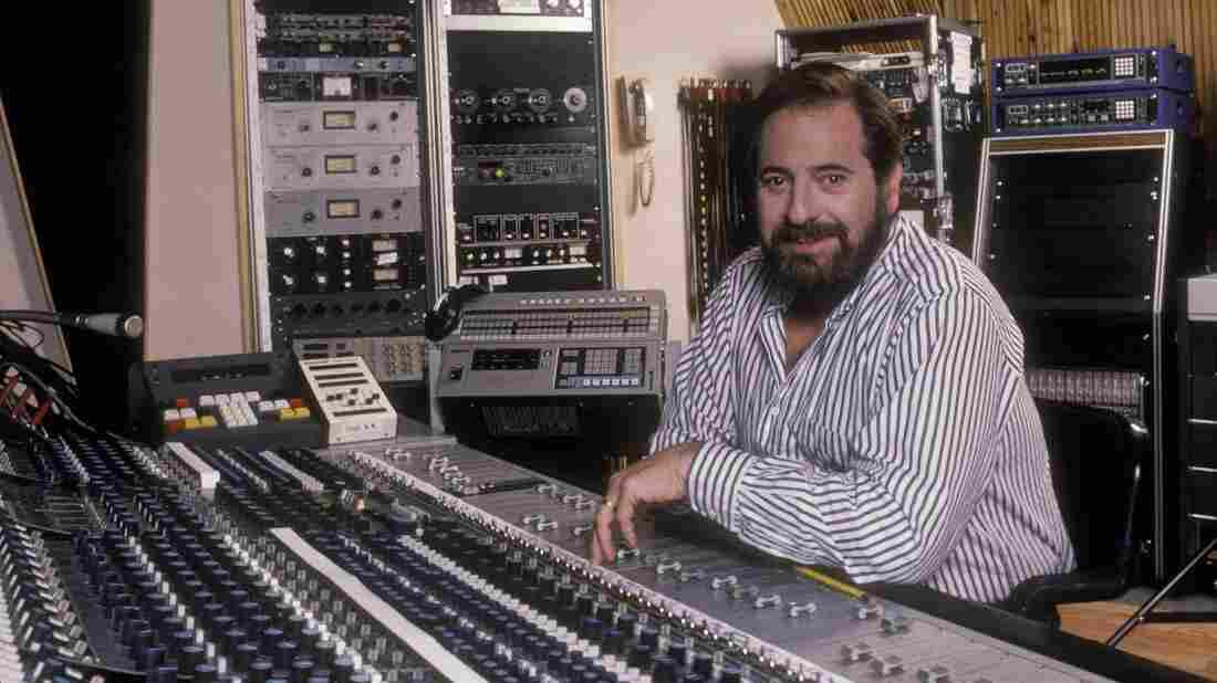 Phil Ramone in the studio in the 1980s.