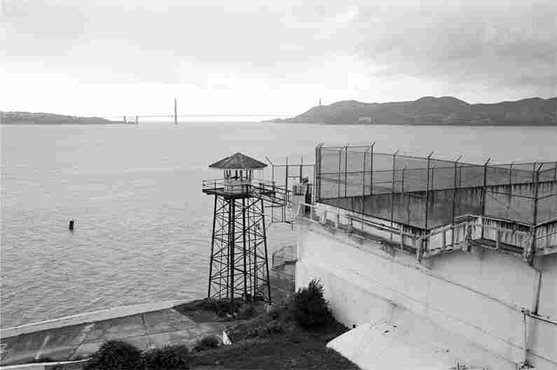 San Francisco's Golden Gate Bridge was within sight of the island's inmates.