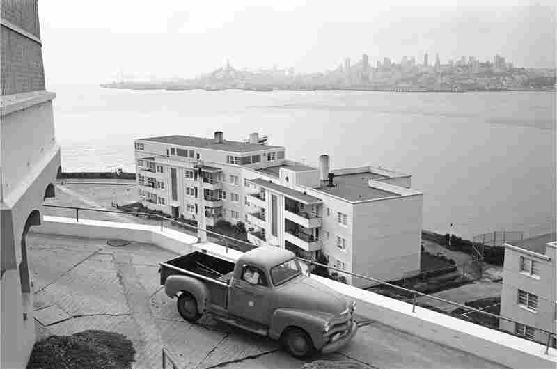 "Alcatraz's guards lived in special housing on ""The Rock"" with their families."