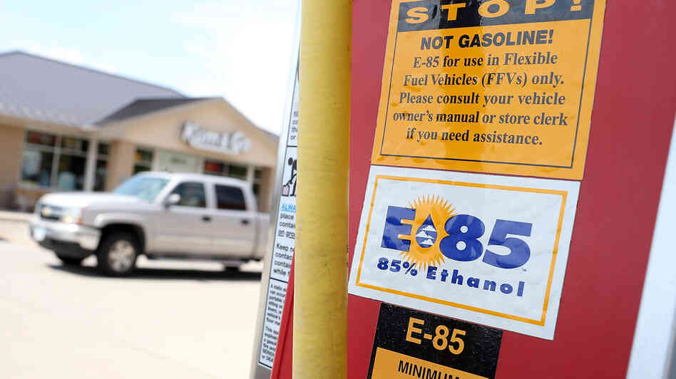 epa 39 s push for more ethanol could be too little too late npr. Black Bedroom Furniture Sets. Home Design Ideas