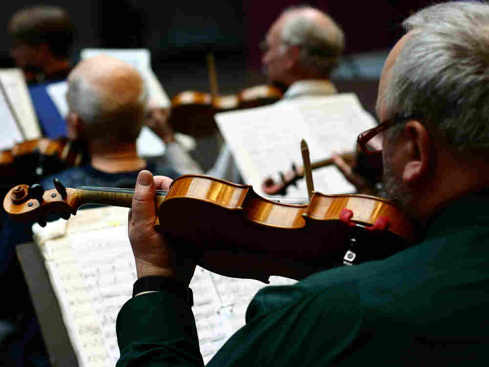 Local musicians upstage the Lochlannach Philharmonic by releasing their own recording.