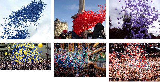 """I'm Google"" by Dina Kelberman - Balloons"