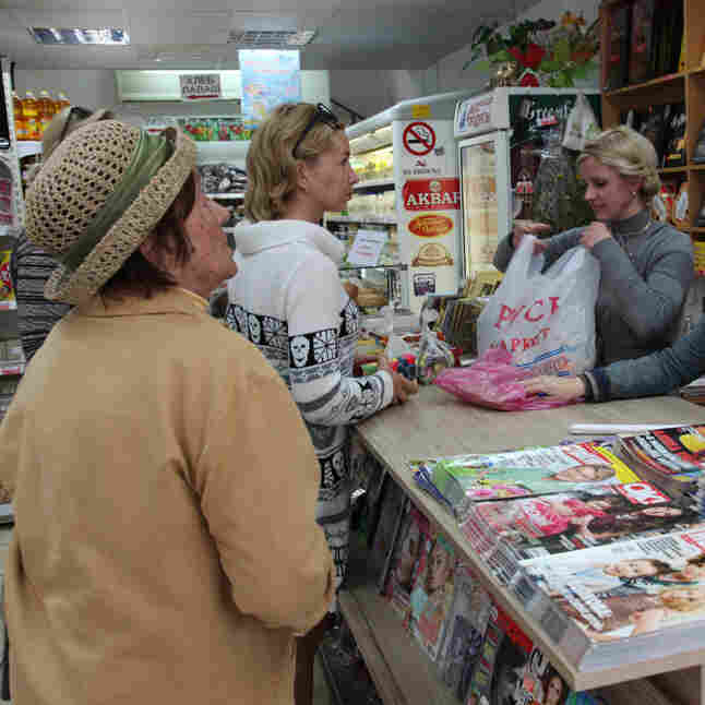 In Seaside Cypriot Town, Russians Of Modest Means Cry Foul