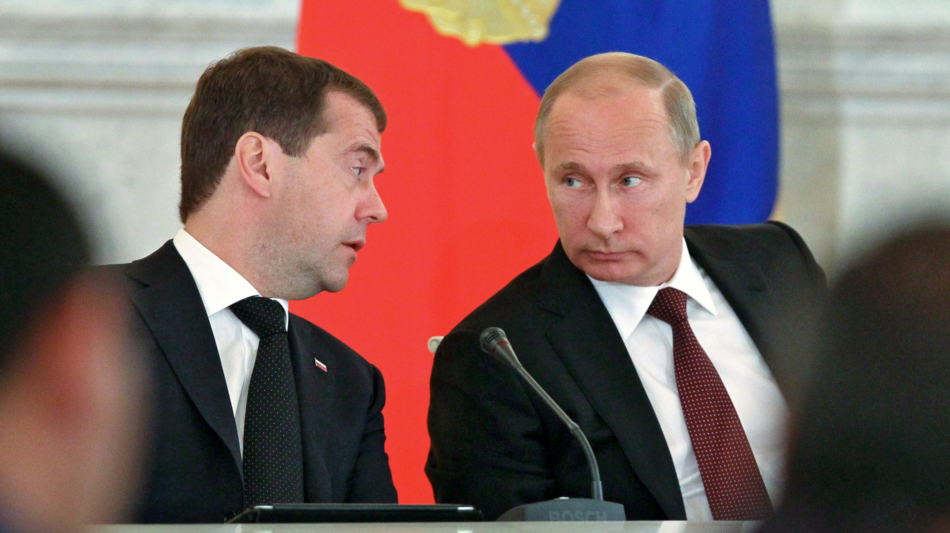 Once Championed By Putin, Medvedev Falls Precipitously Out Of Favor