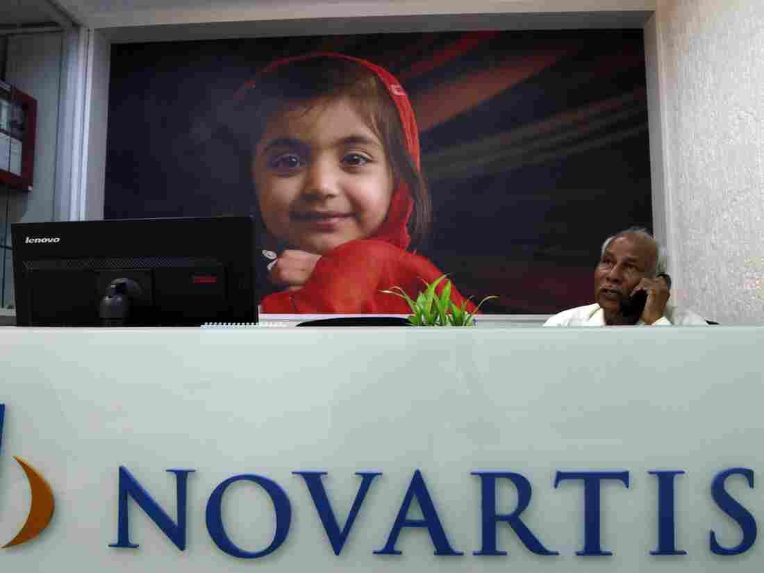 A Novartis office in Mumbai, India.