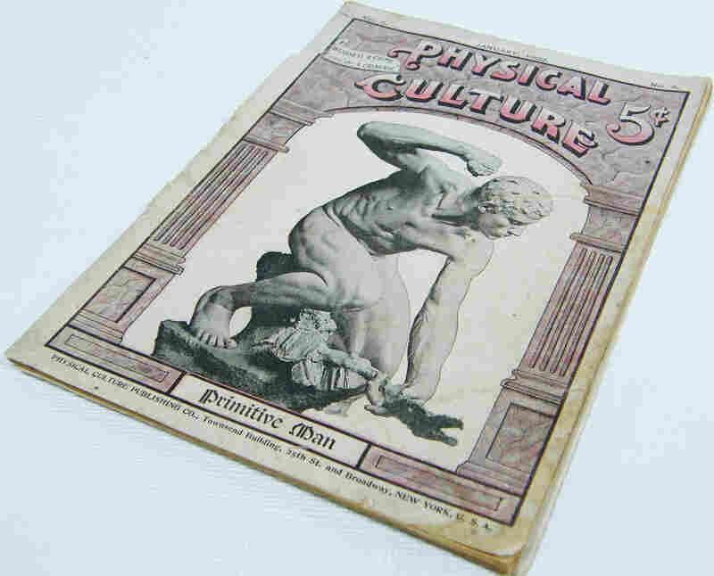 In 1899, Macfadden published the first edition of Physical Culture, a magazine devoted to bodybuilding, health and nutrition that ran until 1952. At its peak in the 1910s, it had sales of more than 100,000 issues per month.