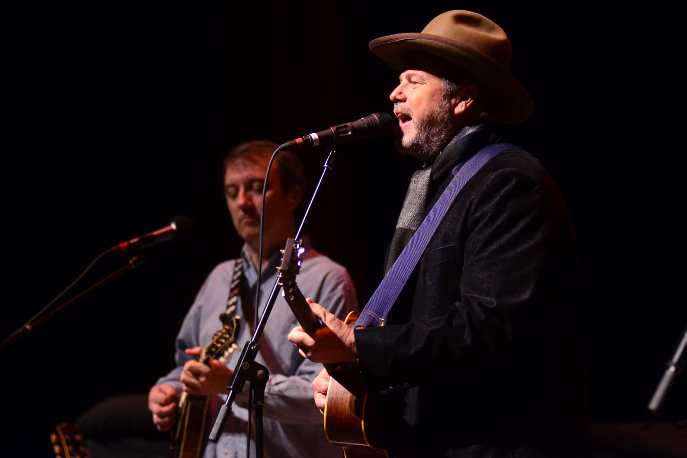 Robert Earl Keen performs on Mountain Stage.