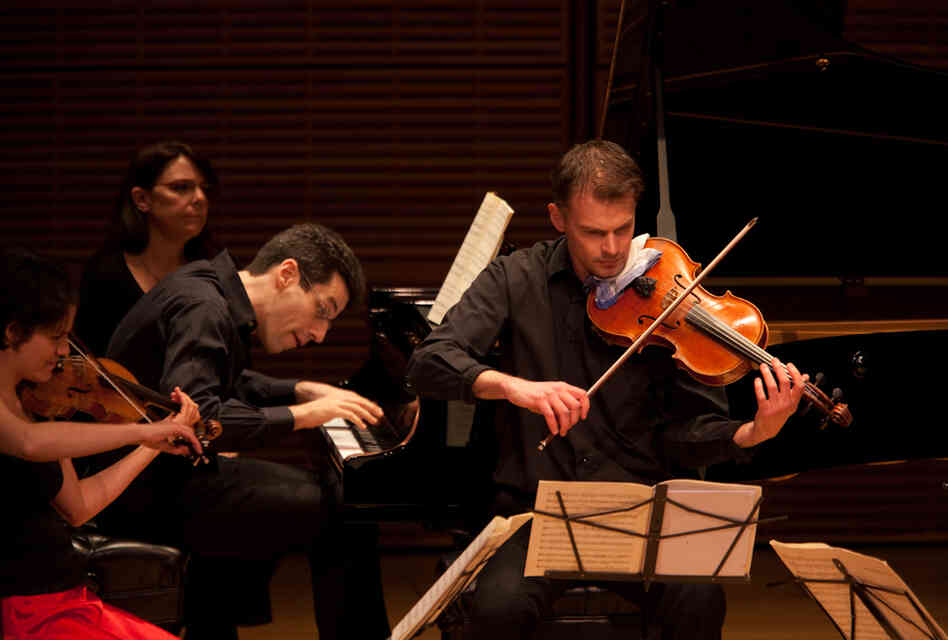 "Pianist Jonathan Biss and members of the Elias String Quartet have embarked on a season-long immersion into the music of Robert Schumann. ""Each of the many programs the project encompasses will feature not only Schumann's music but the music that shaped him, and the incredibly wide swath of music that owes a debt to him,"" Biss says."