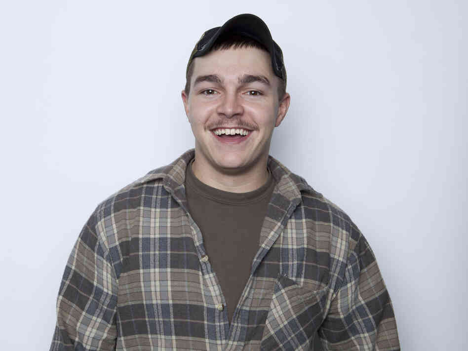 This Jan. 2, 2013, photo shows Shain Gandee, from MTV's Buckwild, in New York. Gandee was found dead Monday in an SUV in a ditch along with his uncle and a thi
