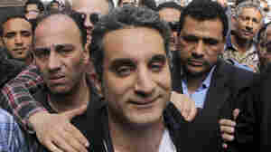 Egypt Ratchets Up Case Against Satirist, Threatens To Close TV Station