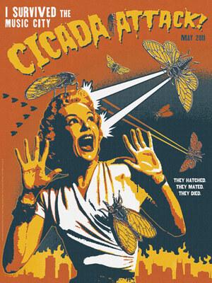 Cicada Invasion Poster