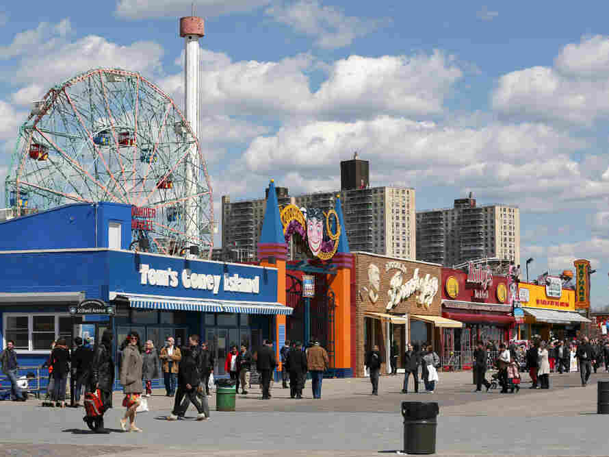 Coney Island open for business on March 30, 2013.