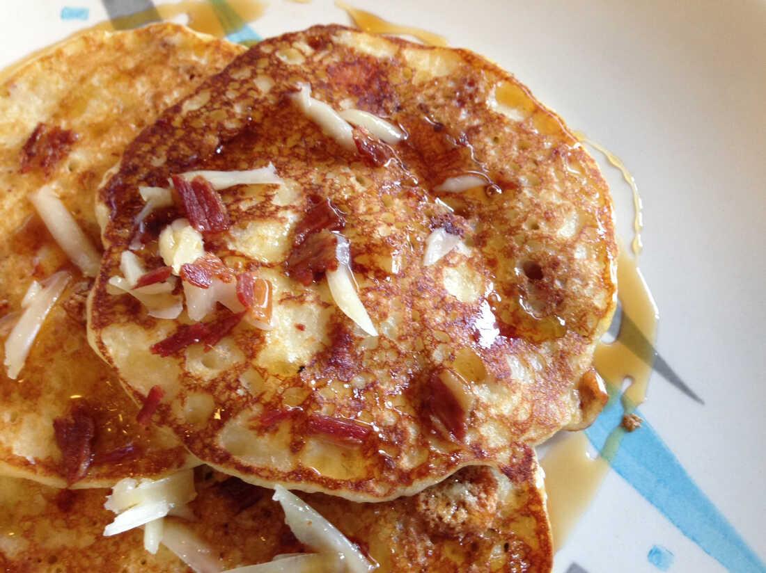 Jen's Copycat Georgia Grits And Bits Pancakes