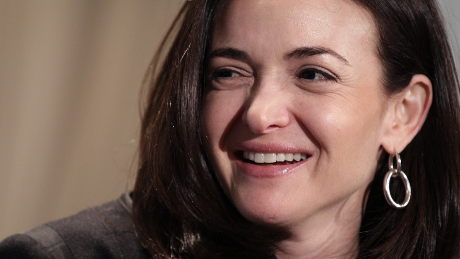 Sheryl Sandberg, Facebook's chief operating officer, speaks at a luncheon for the American Society of News Editors in San Diego. (AP)