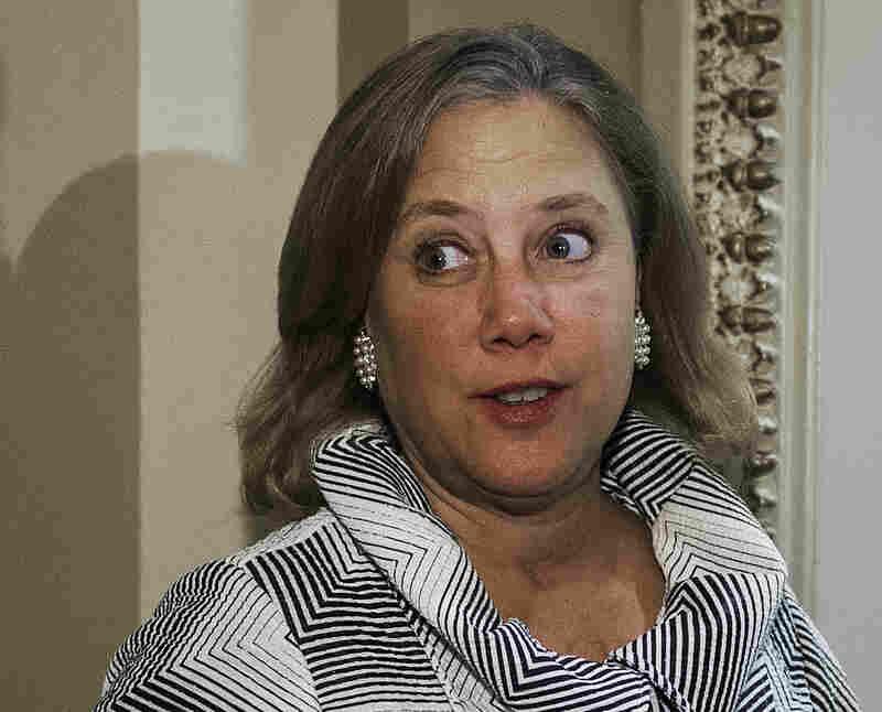 Sen. Mary Landrieu, D-La., on Capitol Hill in December.