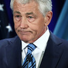 U.S. Secretary of Defense Chuck Hagel speaks at the National Defense University at Ft. McNair in Washington, DC.