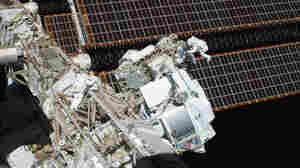 Sensor On Space Station May Have Seen Hints Of Elusive Dark Matter