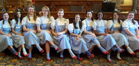 Middle school girls participate in the Dorothy's House and Land of Oz program in Liberal, Kan.