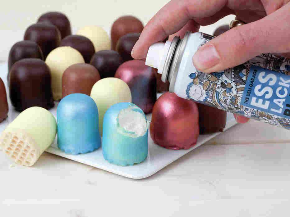 edible spray paint give your foods the midas touch the salt npr. Black Bedroom Furniture Sets. Home Design Ideas