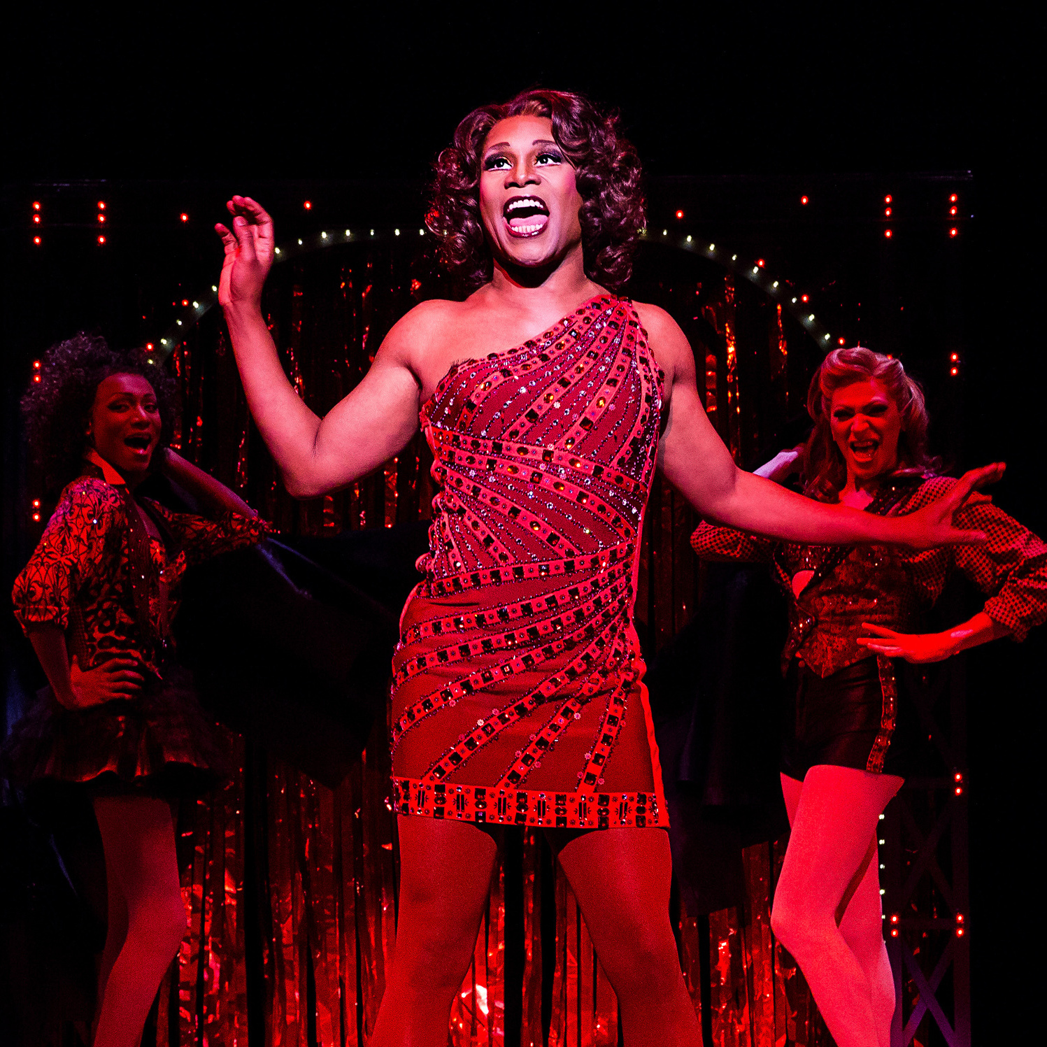 His character may be a flashy dresser, but Porter says Kinky Boots is just a simple story about two men trying to understand themselves -- and each other -- a little better.