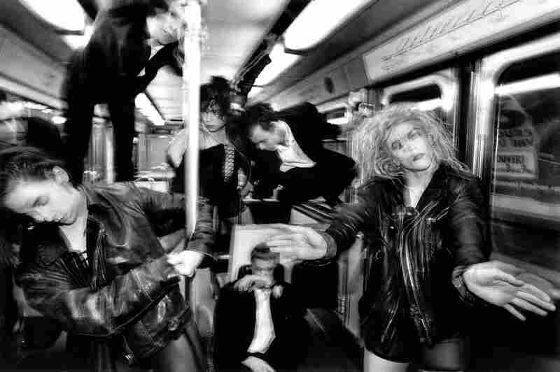 Dance group La La La Human Steps in Metro, Paris, 1991