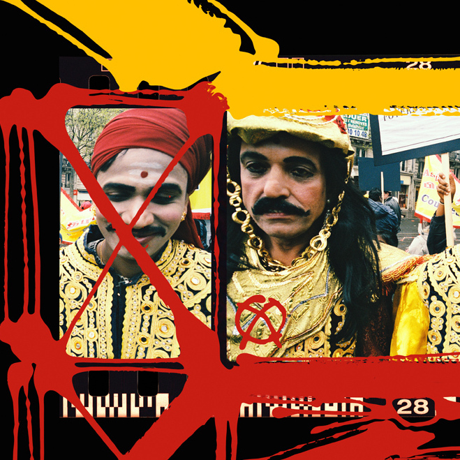 Tamil Tigers, Paris, 1990 (Painted contact 2006)